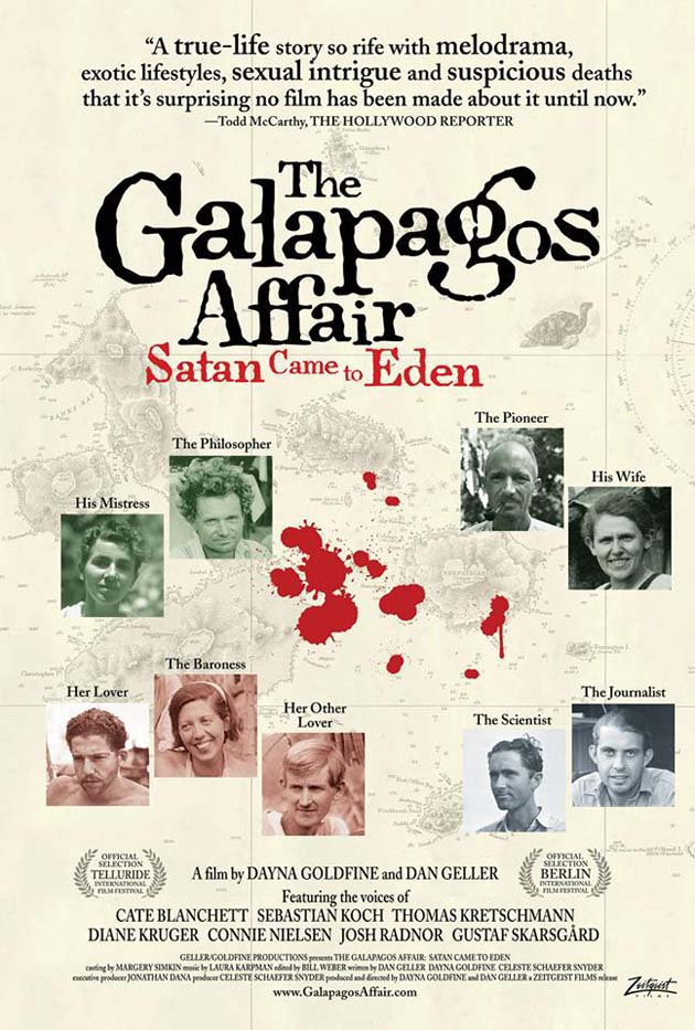 The Galapagos Affair Satan Came to Eden